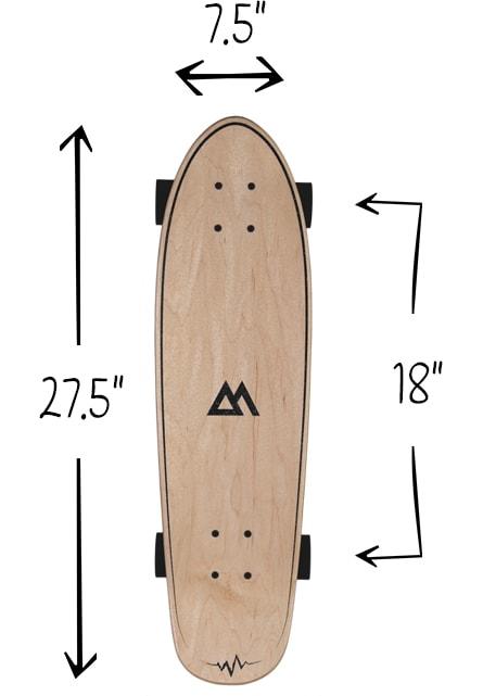Magneto Cruiser Skate Board