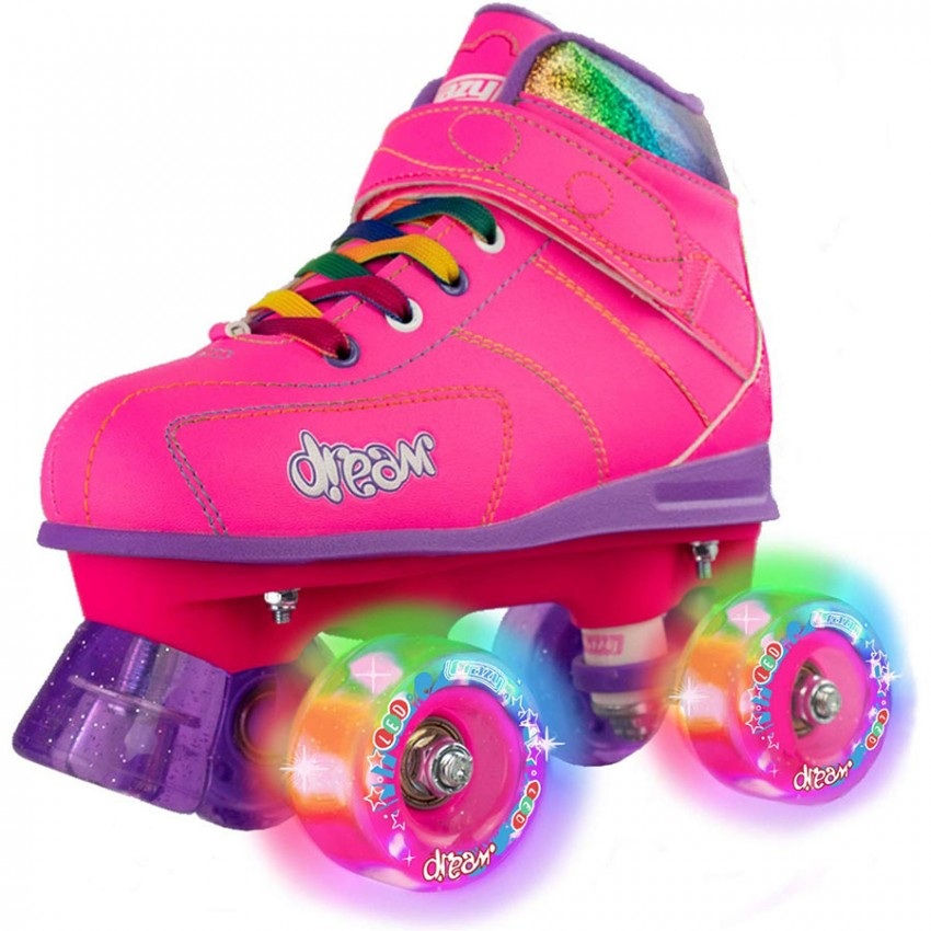 Crazy Dream Rainbow LED Light-Up Skate