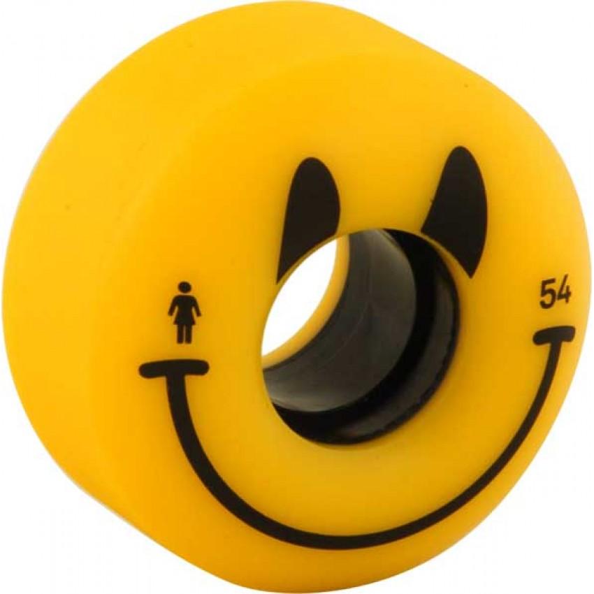 Girl Happy Skateboard Wheels
