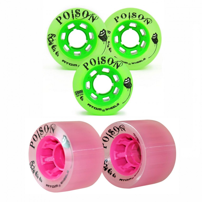 Atom Poison Wheels